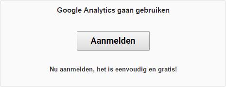 google analytics aanmelden