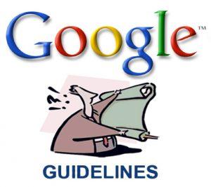 google-richtlijnen-voor-webmasters