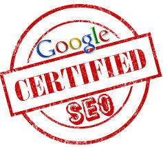 google seo certificaat