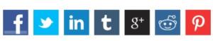 social shares buttons