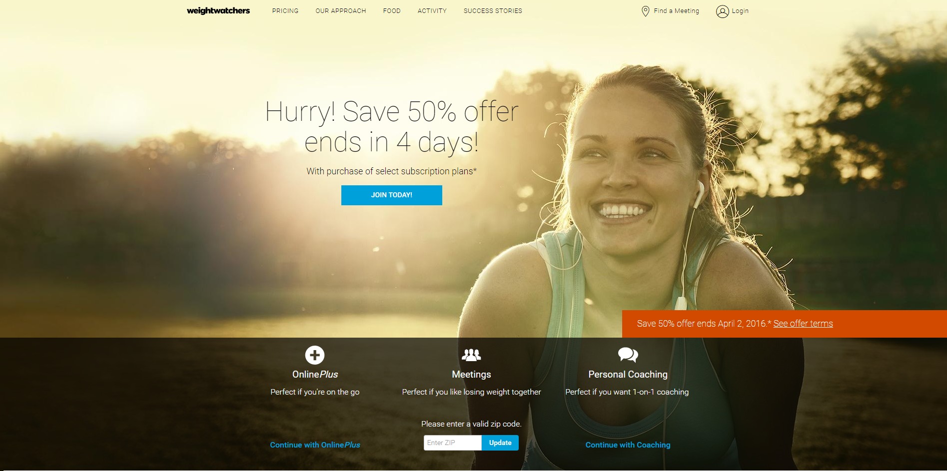 weightwatchers homepage